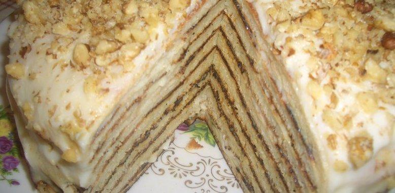 Слоеный торт рецепт медовый