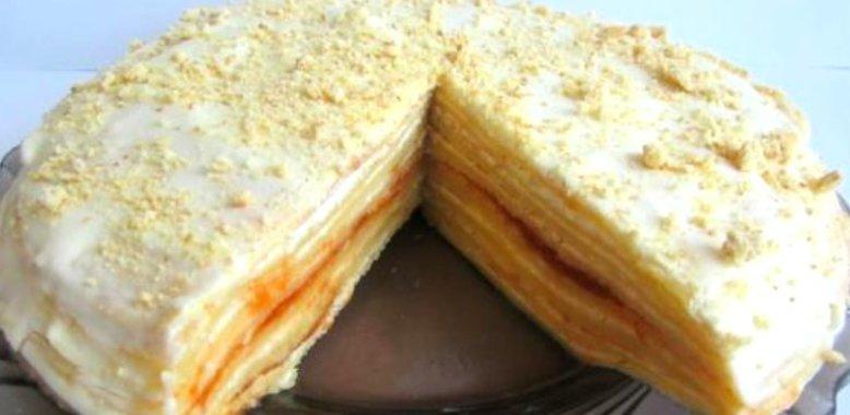 Сметанный крем для блинного торта пошаговый рецепт с