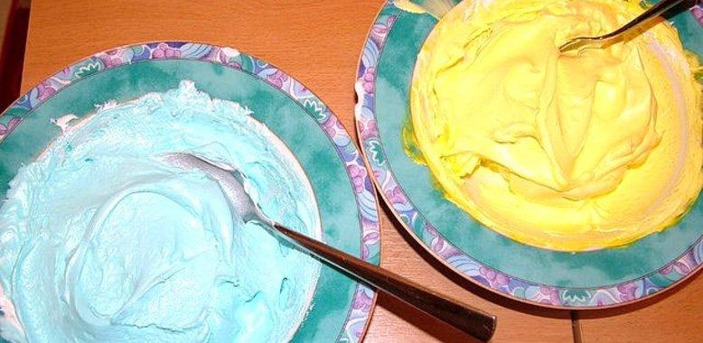 Белковый крем для торта в домашних условиях пошаговый рецепт с из