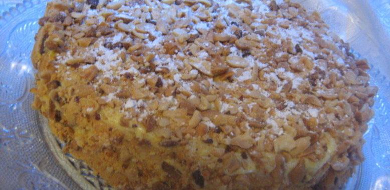 Ореховые торты схемы и фото