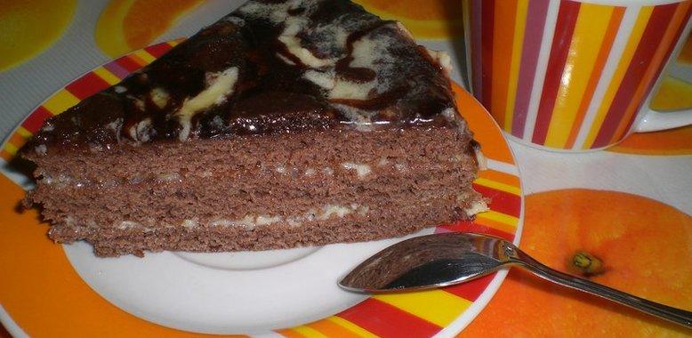 Рецепт торт пражский пошагово