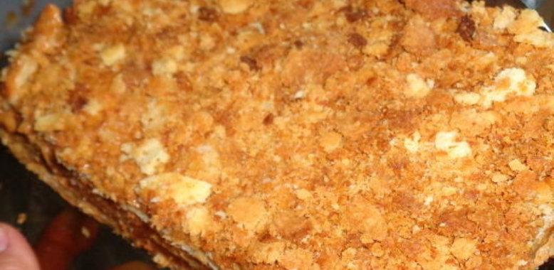 Крем из сгущёнки для наполеона рецепт пошагово