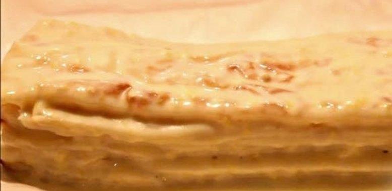 Крем на наполеон торт рецепт пошагово в домашних условиях