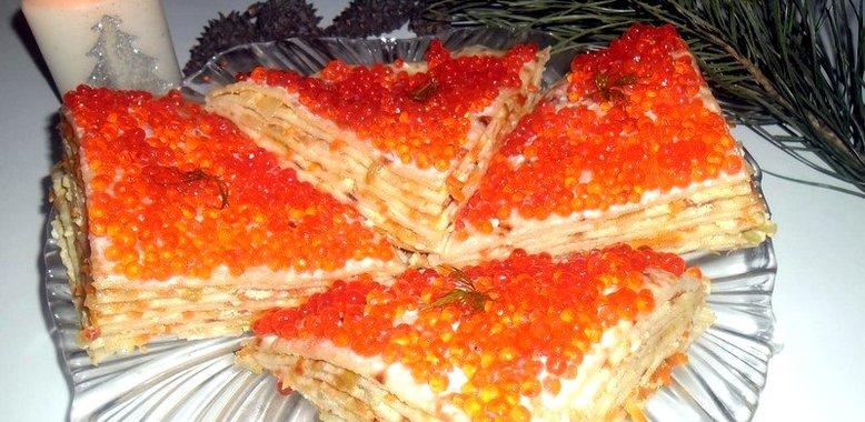 Рецепт с фото блюд блинного торта
