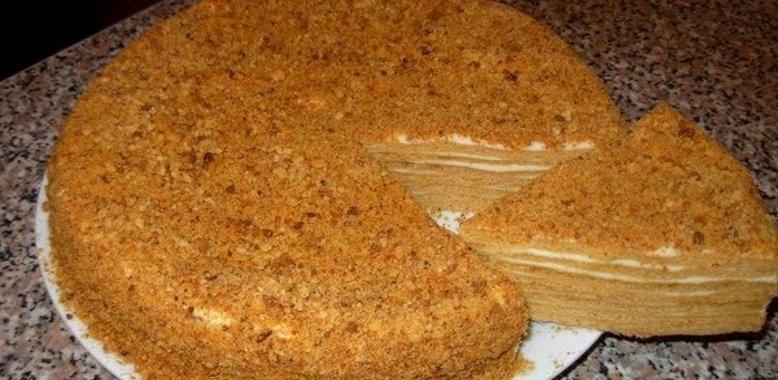 медовый торт холодный способ термобелья