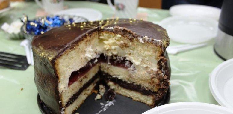 шоколадно-вишневый торт рецепты-хв5