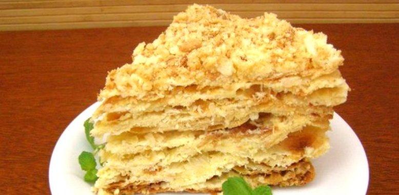 Торт из коржей в домашних условиях рецепт пошагово с 96
