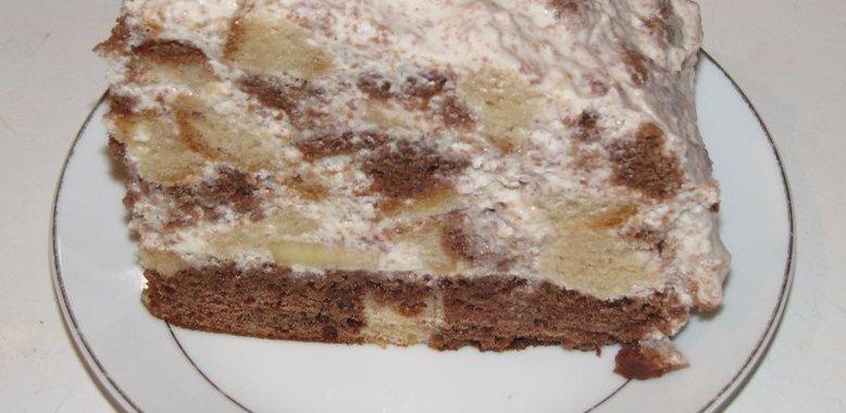 Банановый торт рецепт с фото пошагово в духовке