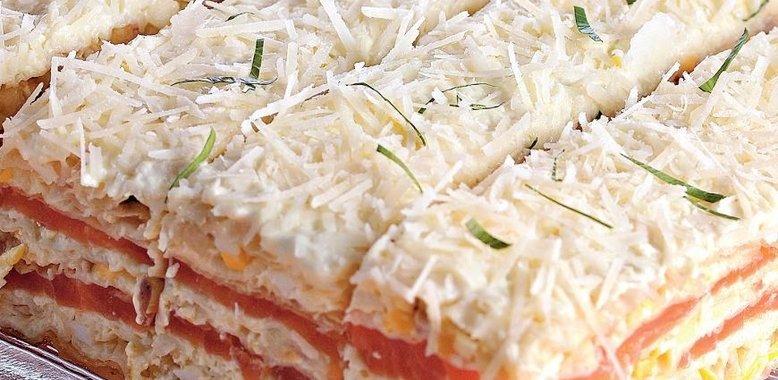 Рецепт торт закусочный с фото