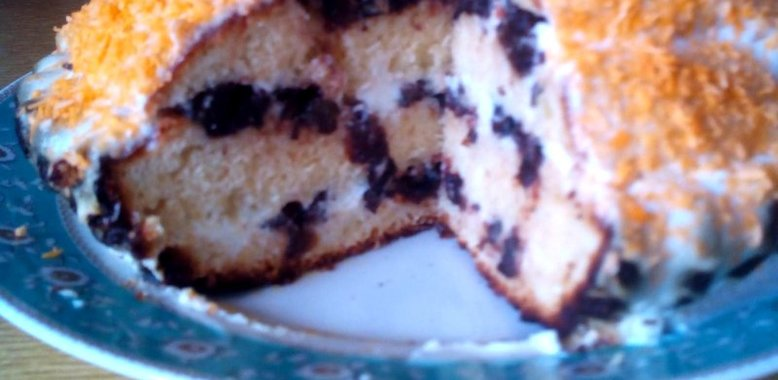 Простой рецепт торта со сметаной