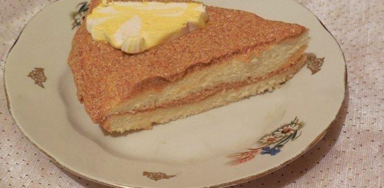 Легкий торта бисквит в домашних условиях
