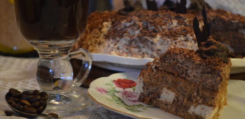 Торт капучино рецепт пошагово в домашних