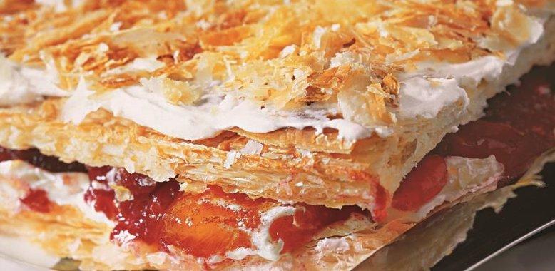 Наполеон торт рецепт из слоеного теста