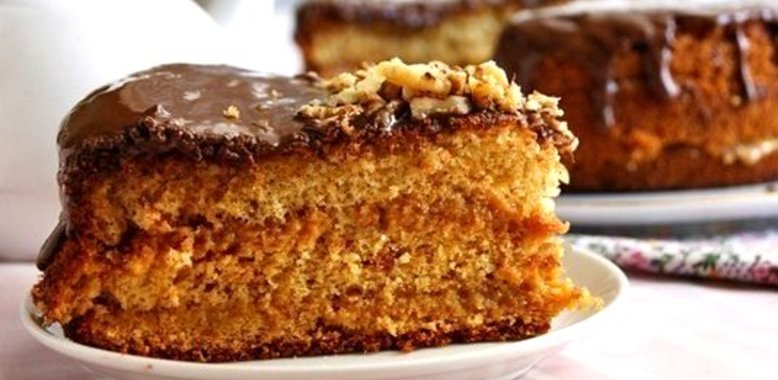 Медовый бисквит пошаговый с фото
