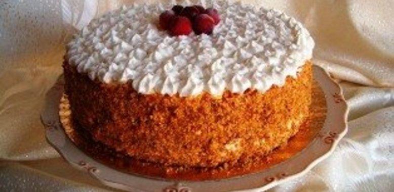 Торт из коржей в домашних условиях рецепт пошагово с 25