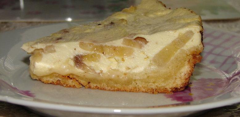 банановый торт с творогом рецепт с фото