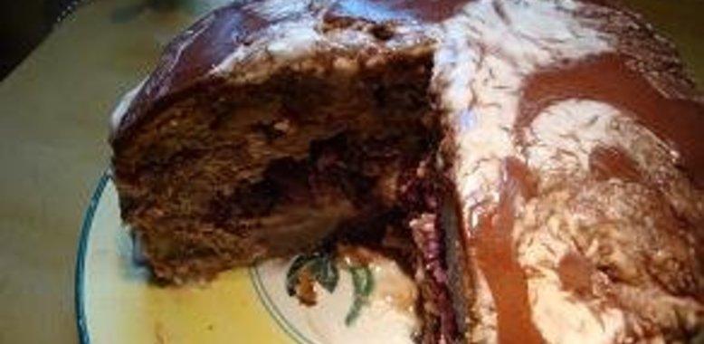 Пошаговый рецепт торта пьяная вишня с