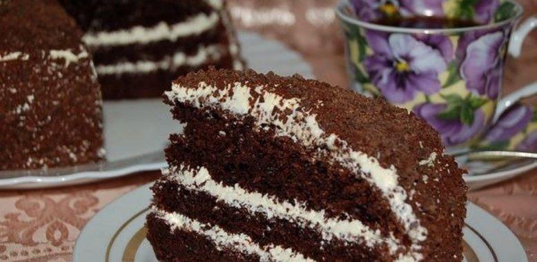 Торт с вареньем из смородины рецепт с фото