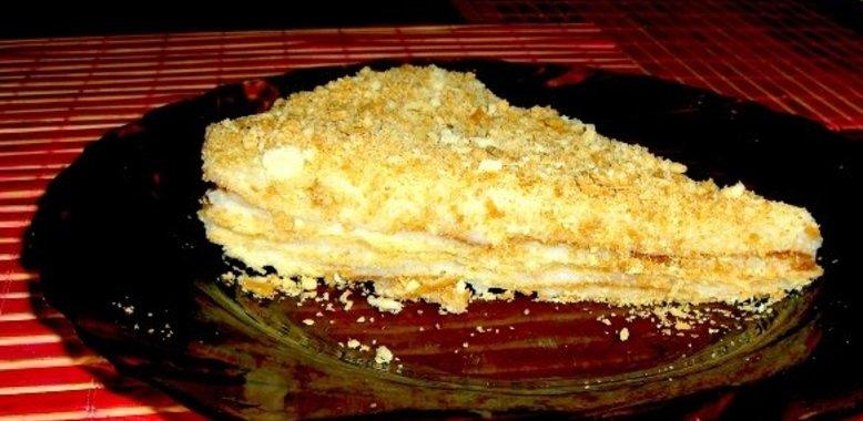 Как приготовить торт наполеон с пошагово