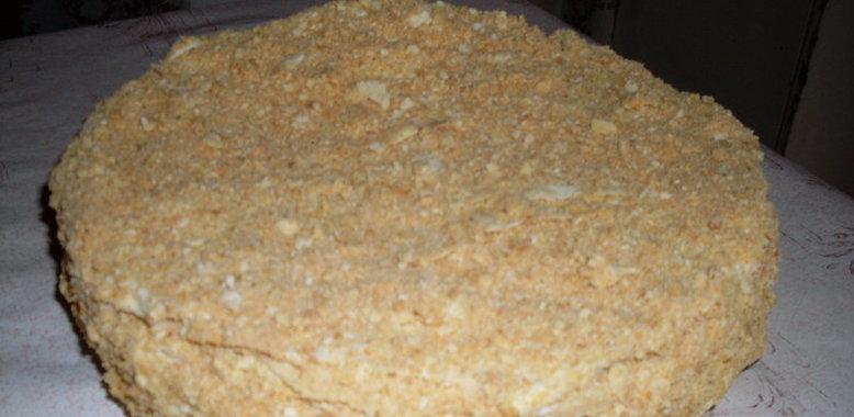 Торта наполеон с пошаговым приготовлением фото
