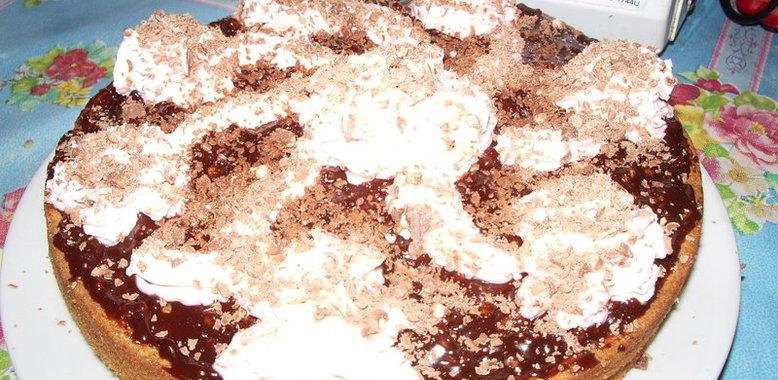 Торт бисквитный домашний рецепт с фото пошагово