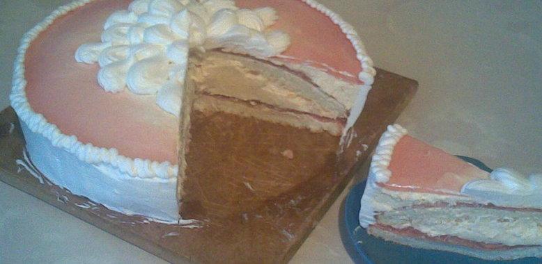 Рецепт творожного торта с пошаговым