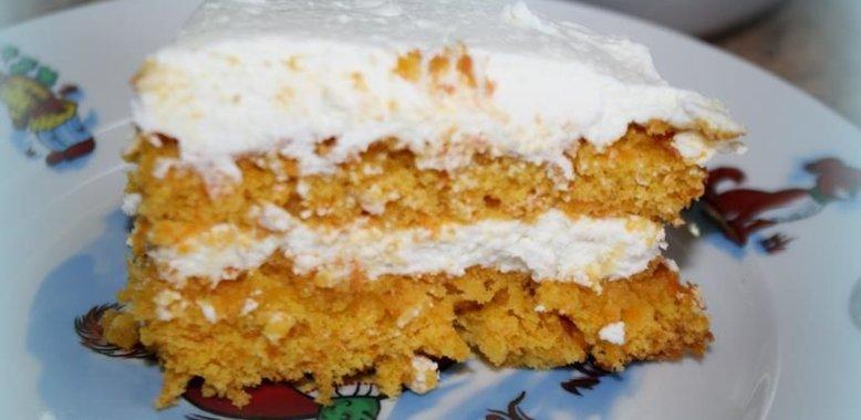 Торт морковный пошаговый рецепт