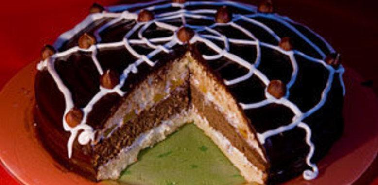 паутинка торт фото пошагово