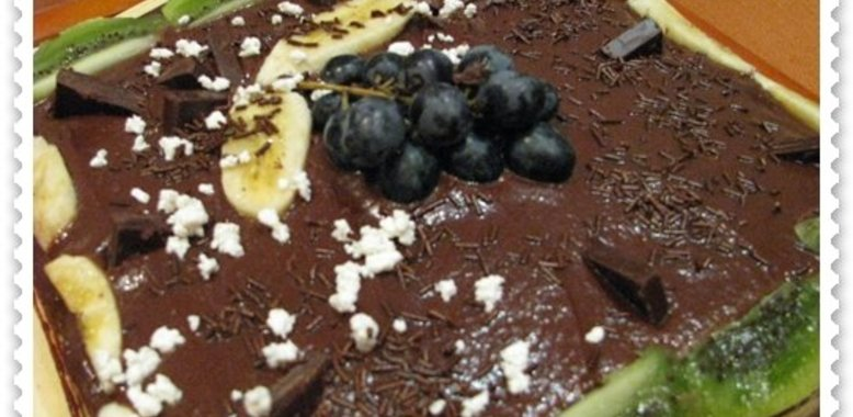 Торт шоколадно-банановый рецепт пошагово в домашних условиях