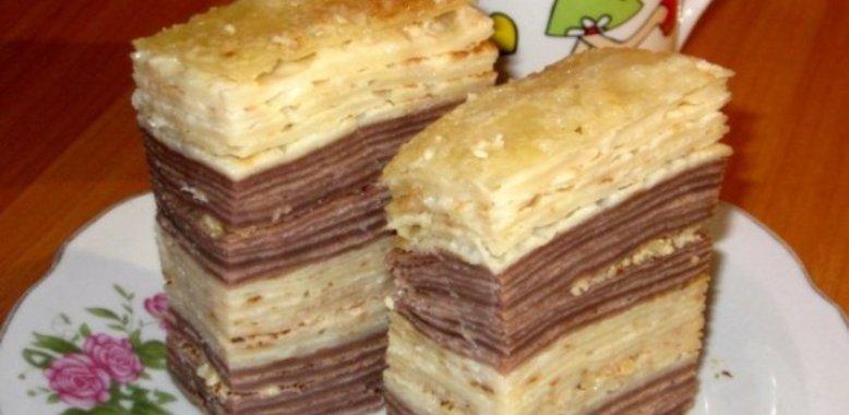 Торт со сгущенкой и сметаной рецепт с пошагово
