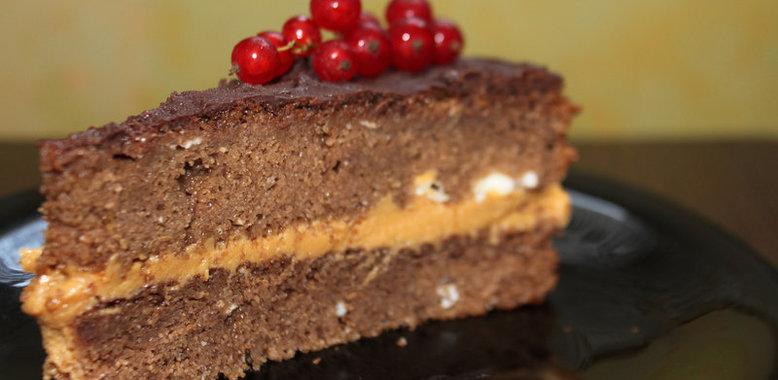 Рецепты шоколадных тортов с пошаговым фото