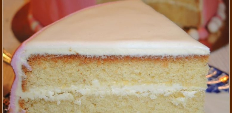 Торт бисквитный с кремом пошаговый рецепт с