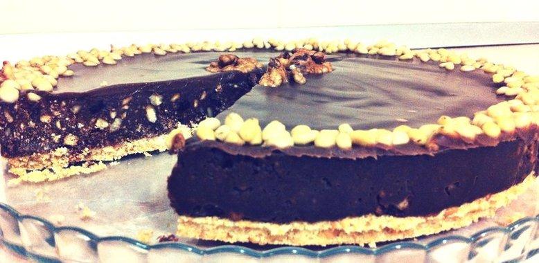 Приготовление орехового торта фото