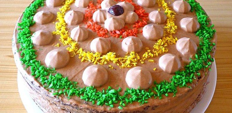 Шоколадный торт со сгущенкой рецепт пошагово в домашних