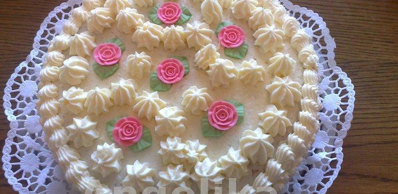 Бисквитный торт с фото