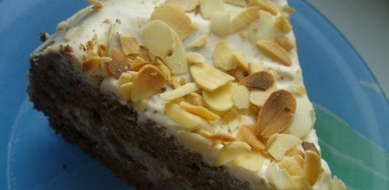 Торт черемуховый пошаговый рецепт с фото