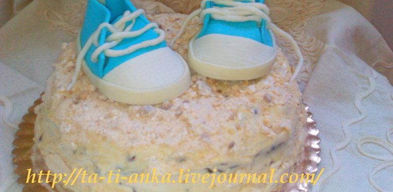 Рецепт торта с пошаговыми фотографиями