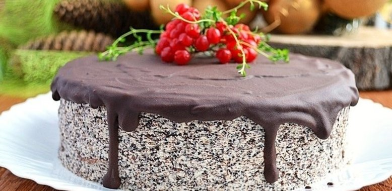 Рецепт макового торта пошагово