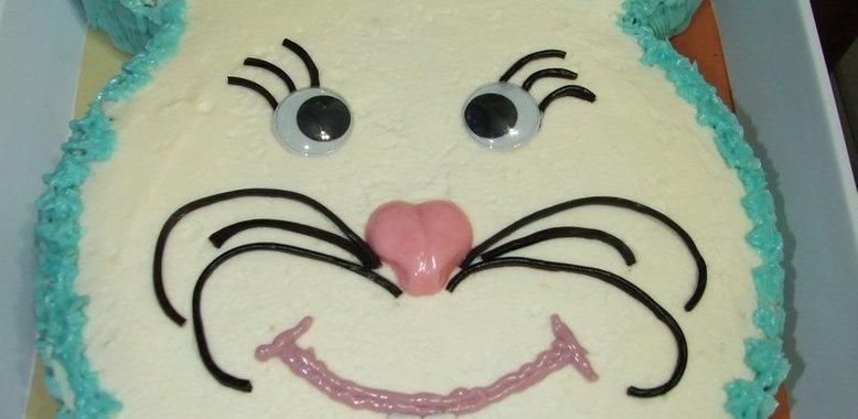 Детский торт с пошаговым